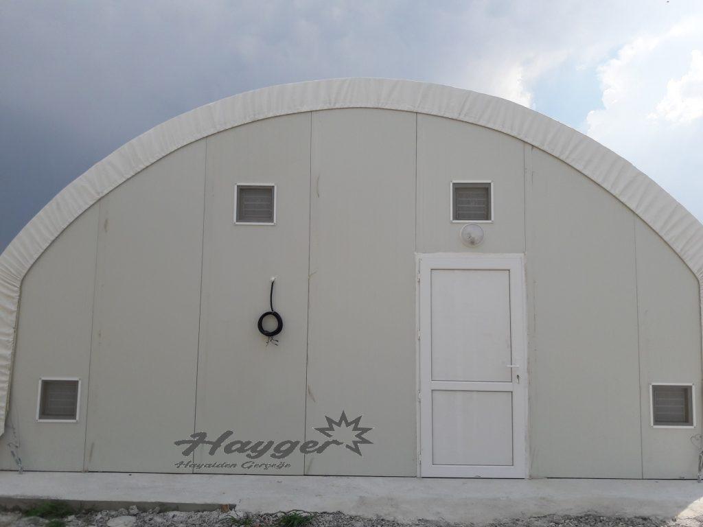 istiridye mantarı üretim çadırı